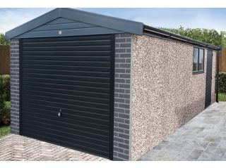 The fantastic looking Anthracite Apex garage