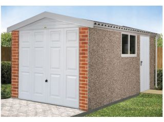The Apex Deluxe garage in standard specification