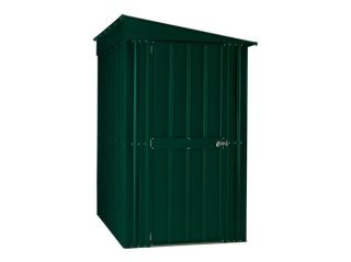 A 4ft x 6ft Lotus lean-to in heritage green