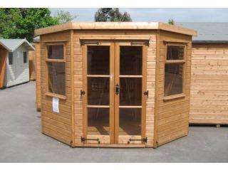 A 7'x7' Colton Corner Summerhouse in standard specification