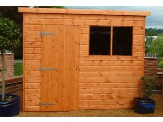 This Popular Pent shows door position B, left-hand hinged