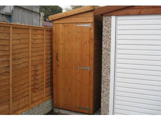 The Side Storage Solution in standard dipped timber finish