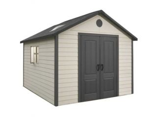 An 11ft x 11ft Lifetime Apex Shed