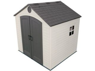 """The 8ft wide x 7'6"""" model comes with one window"""